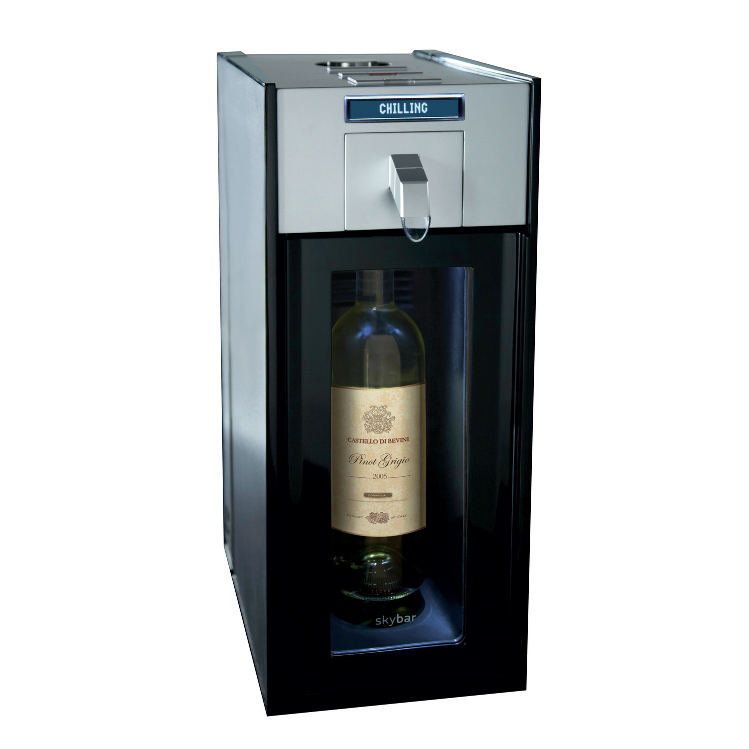 Wine Preservation System 1 Chamber Skybar Touch Of