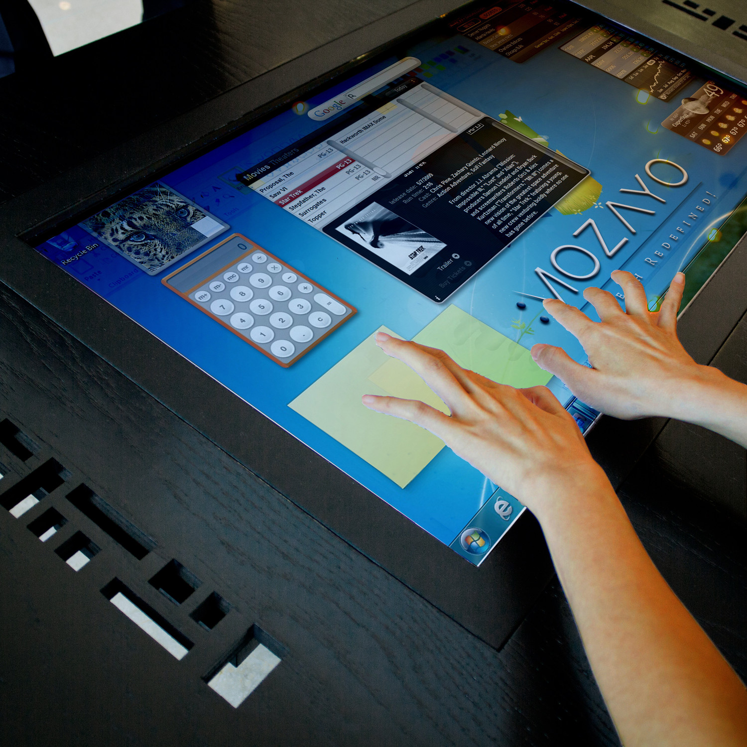 M32 Premium Series MultiTouch Table Mozayo Touch of Modern
