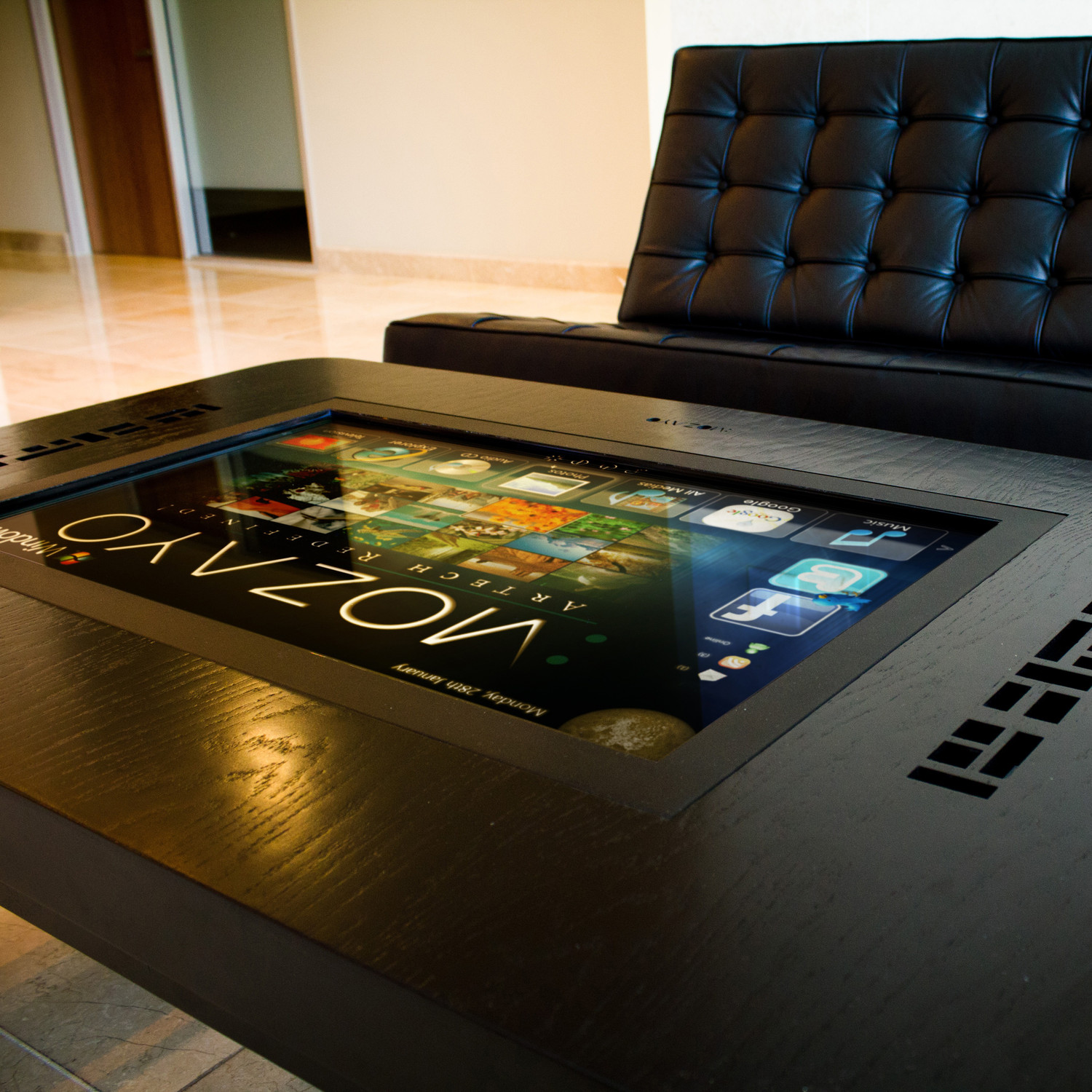 M32 premium series multitouch table mozayo touch of modern m32 premium series multitouch table geotapseo Gallery