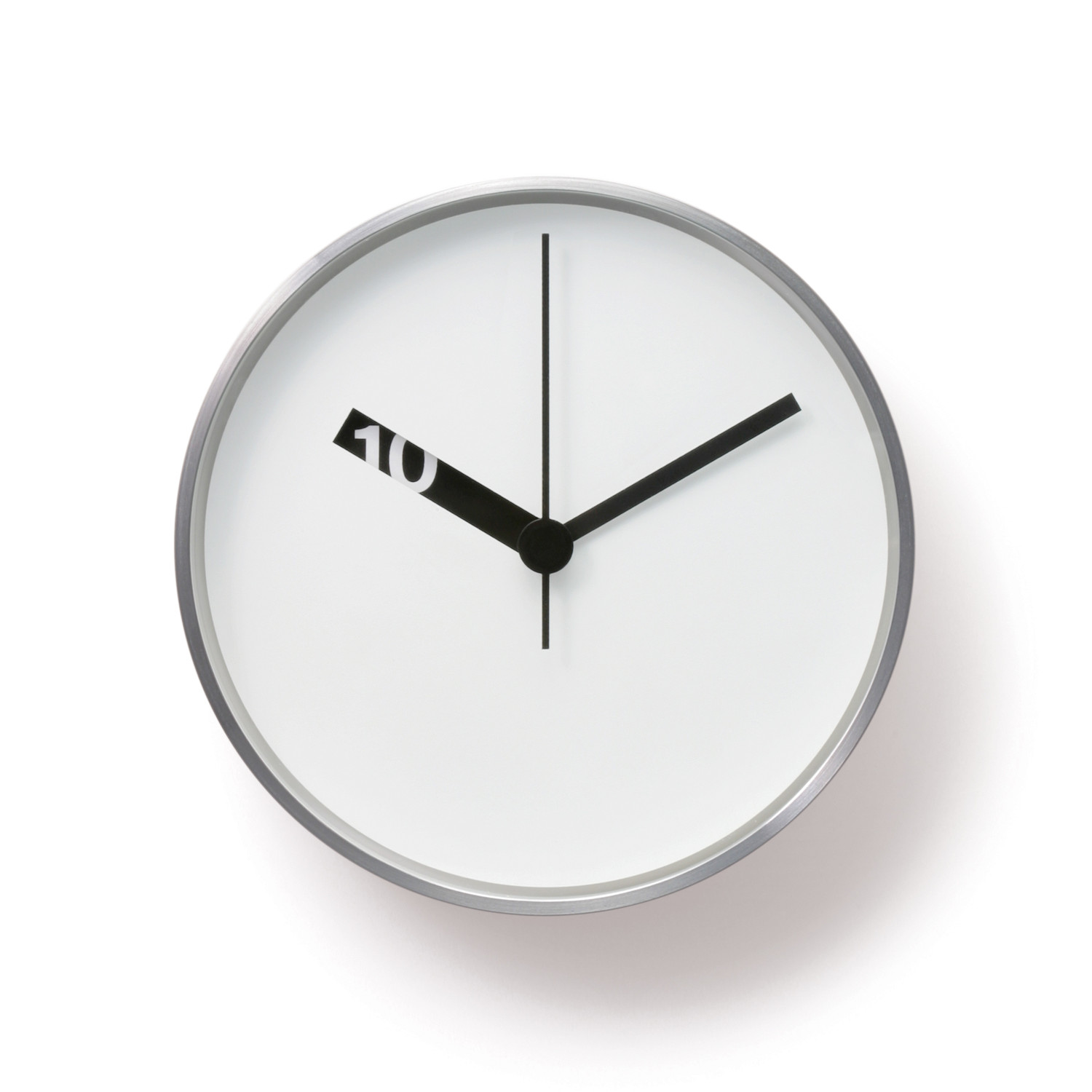 Extra Normal Wall Clock White Face Normal Timepieces Touch Of Modern