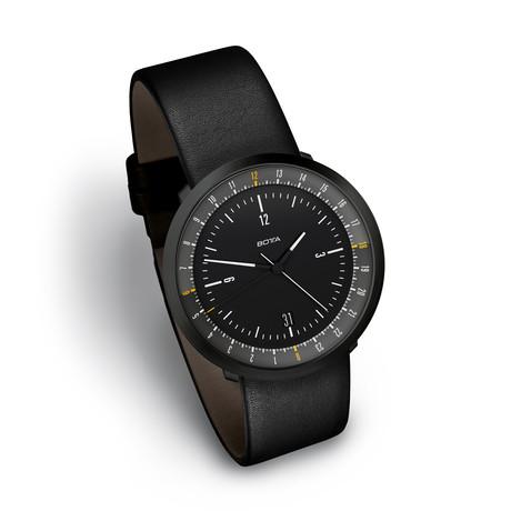 Botta Design MONDO Black Edition Quartz // BE269010 (S: 155mm-185mm)