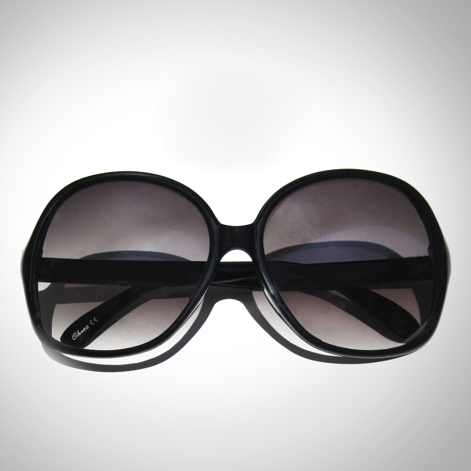 Oversized Sunglasses Tinted Black 2 Lnoir Touch Of Modern Frame Kacamata Eyeglasses Retro Style