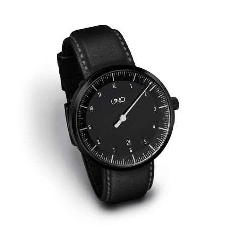 Uno Carbon Auto Leather // Black Edition (S: 155mm-185mm)
