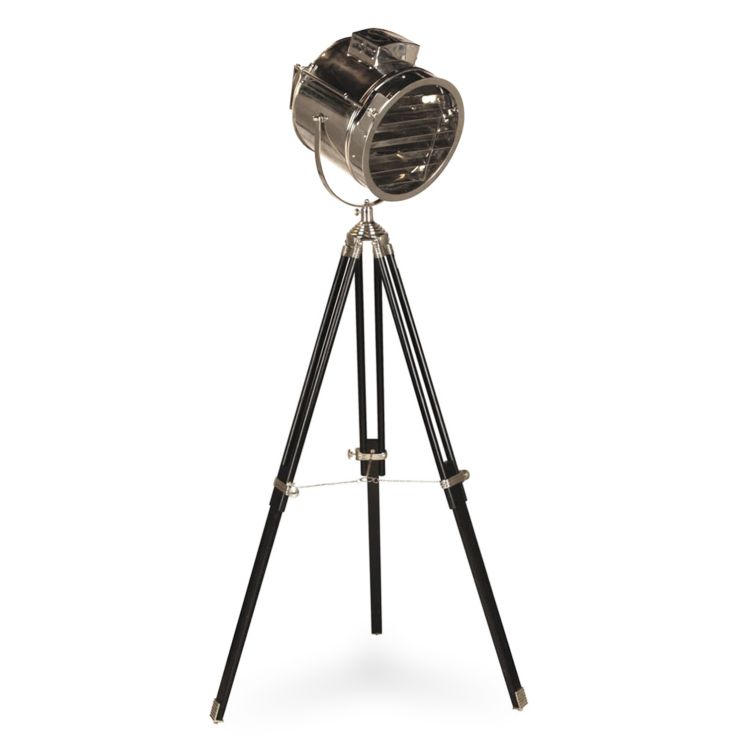 hollywood tripod floor lamp hollywood regency touch of modern. Black Bedroom Furniture Sets. Home Design Ideas