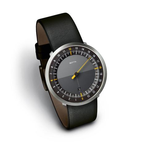 Botta Design // UNO24 Black Quartz // 229010 (S: 155mm-185mm)