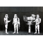 "Stormtrooper Filming Oscars (26""L x 18""H)"