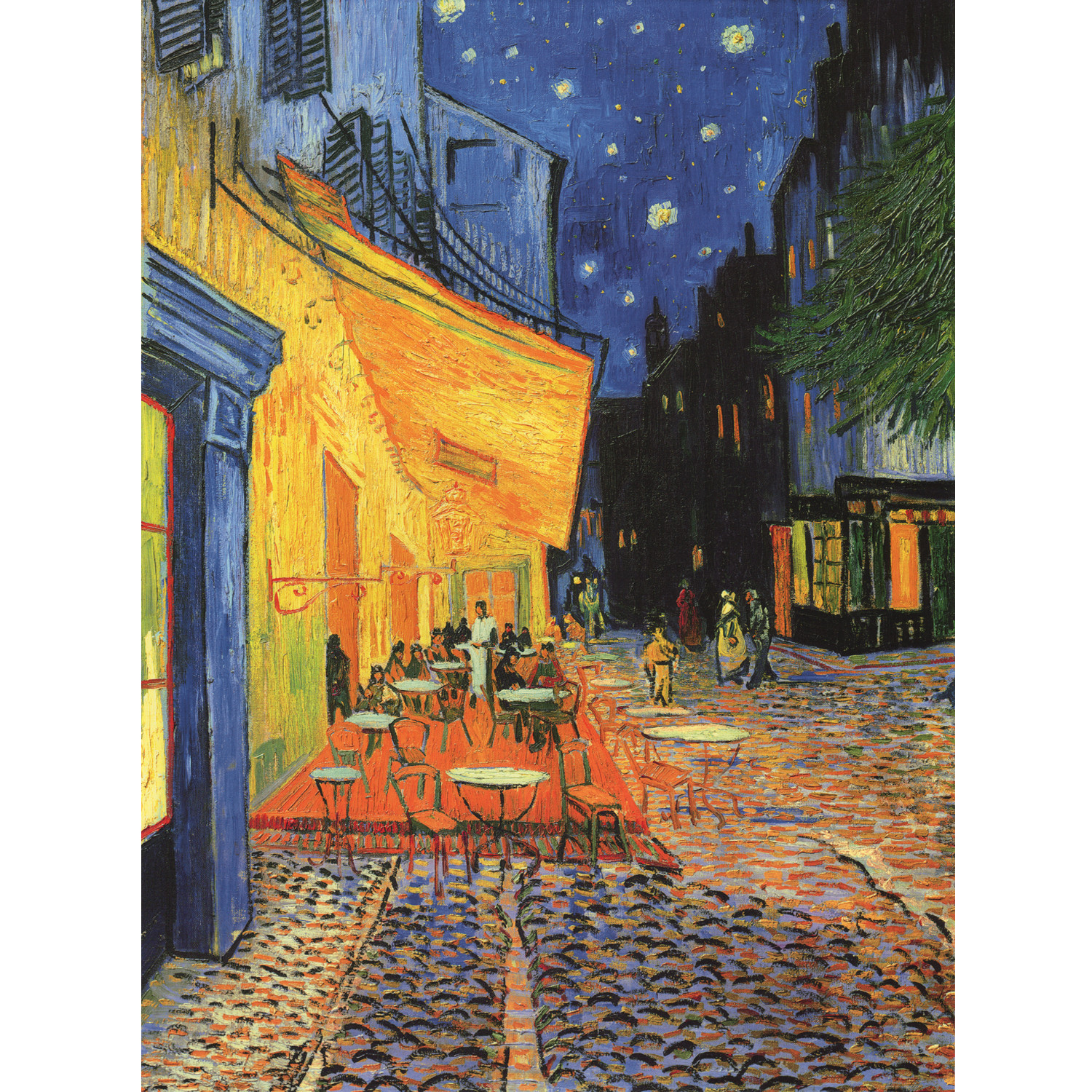 cafe terrace at night by van gogh 18 x 26 icanvasart touch of modern. Black Bedroom Furniture Sets. Home Design Ideas