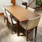 ESPANDA Leaf Table Large (Walnut)
