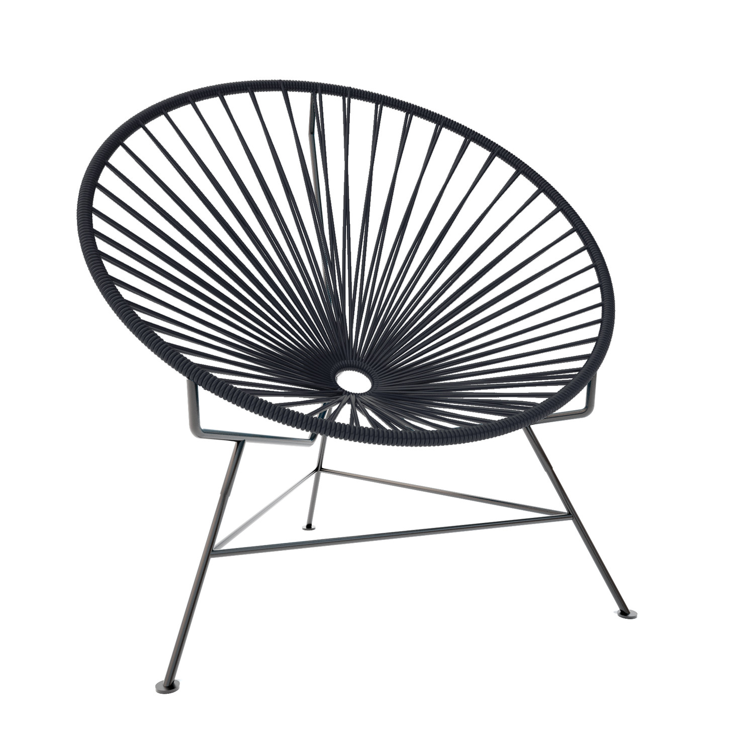 Innit Chair Black Weave on Black Frame Innit Touch of Modern