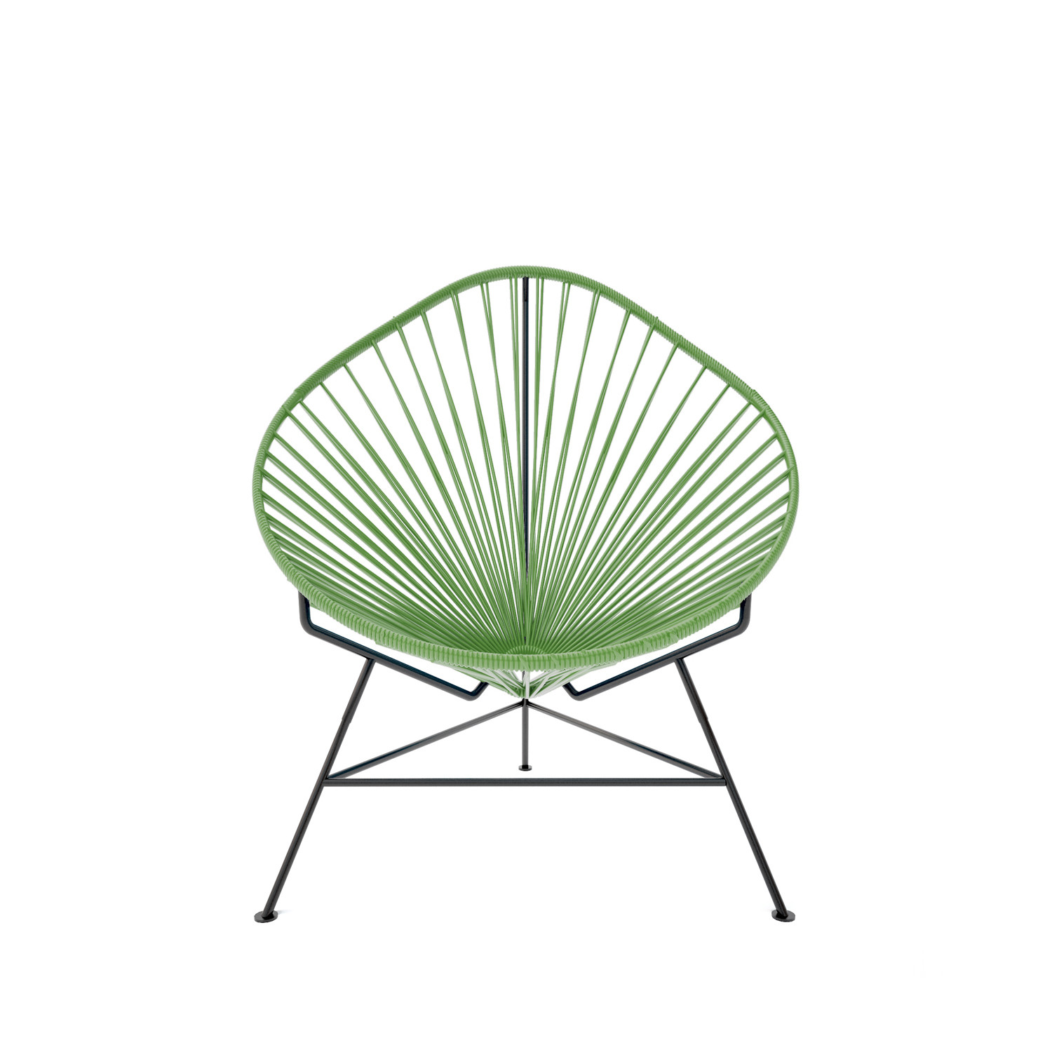 Genial Baby Acapulco Chair   Olive Weave On Black Frame