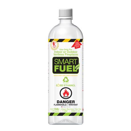 SmartFuel Liquid Bio-Ethanol Fuel (6 Pack)