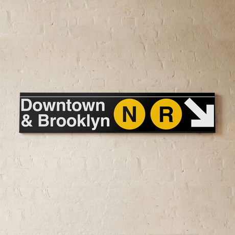 Downtown & Brooklyn // N + R Lines