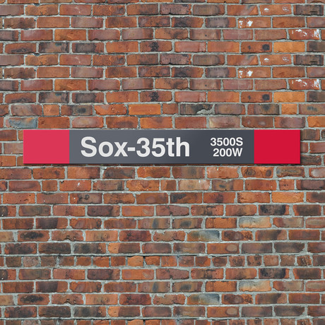 Sox 35th // Red