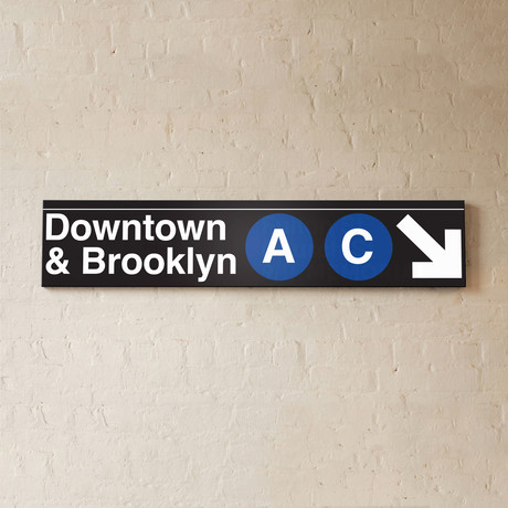 Downtown + Brooklyn // A + C Lines