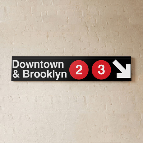 Downtown + Brooklyn // 2 + 3 Lines