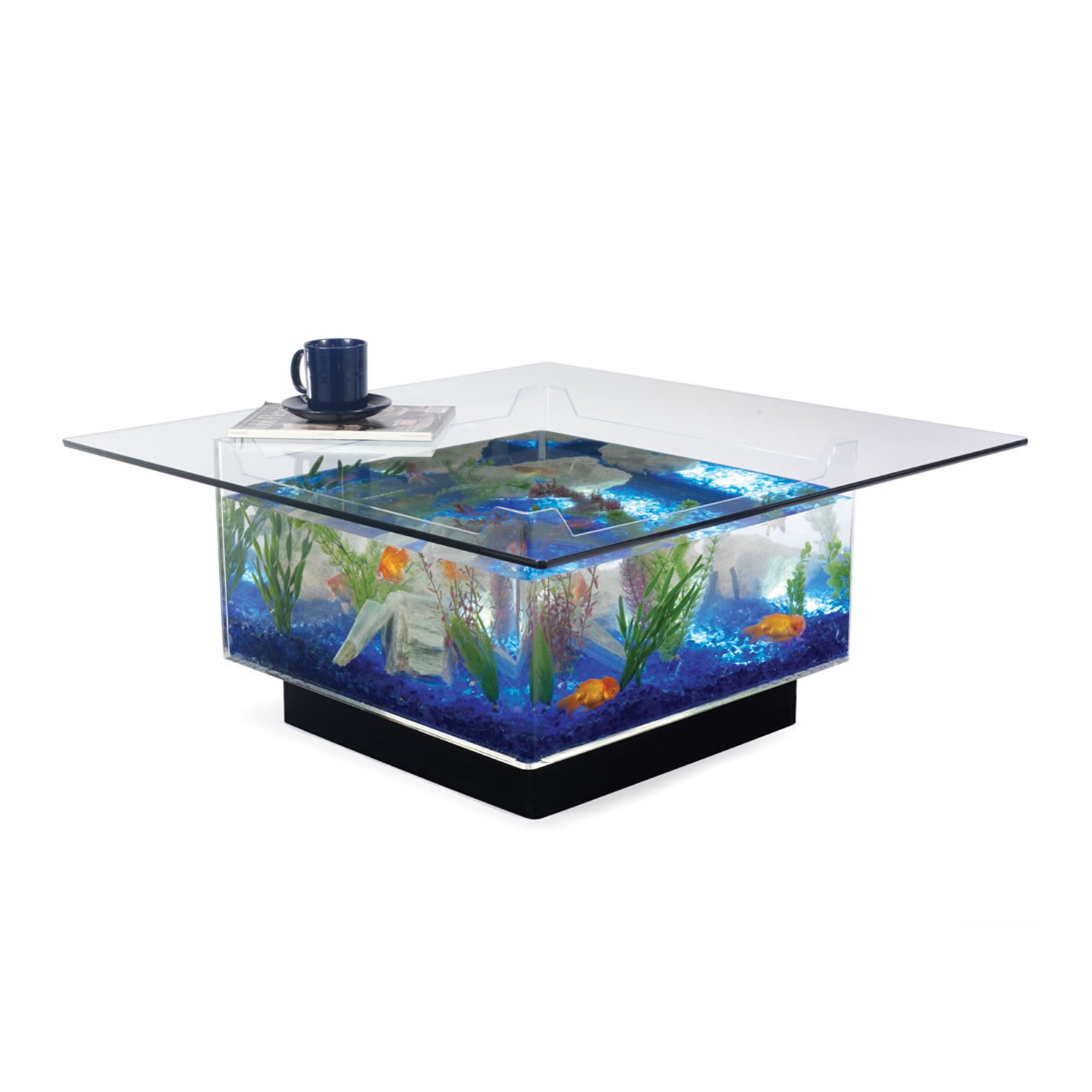 Aquarium Coffee Table Table Coffee Midwest Tropical Touch