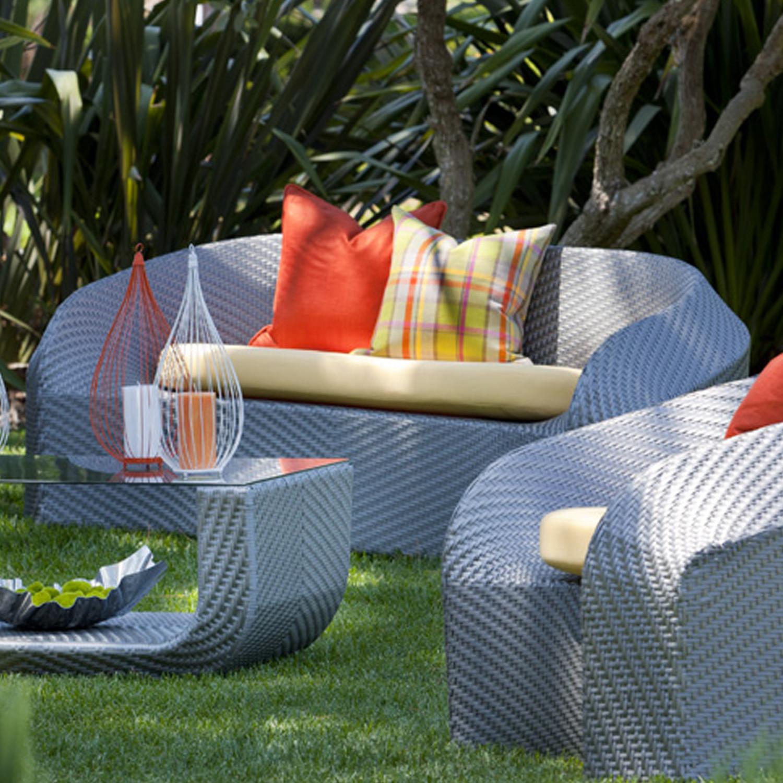Montecito Sofa Glacier Sunbrella Outback Company