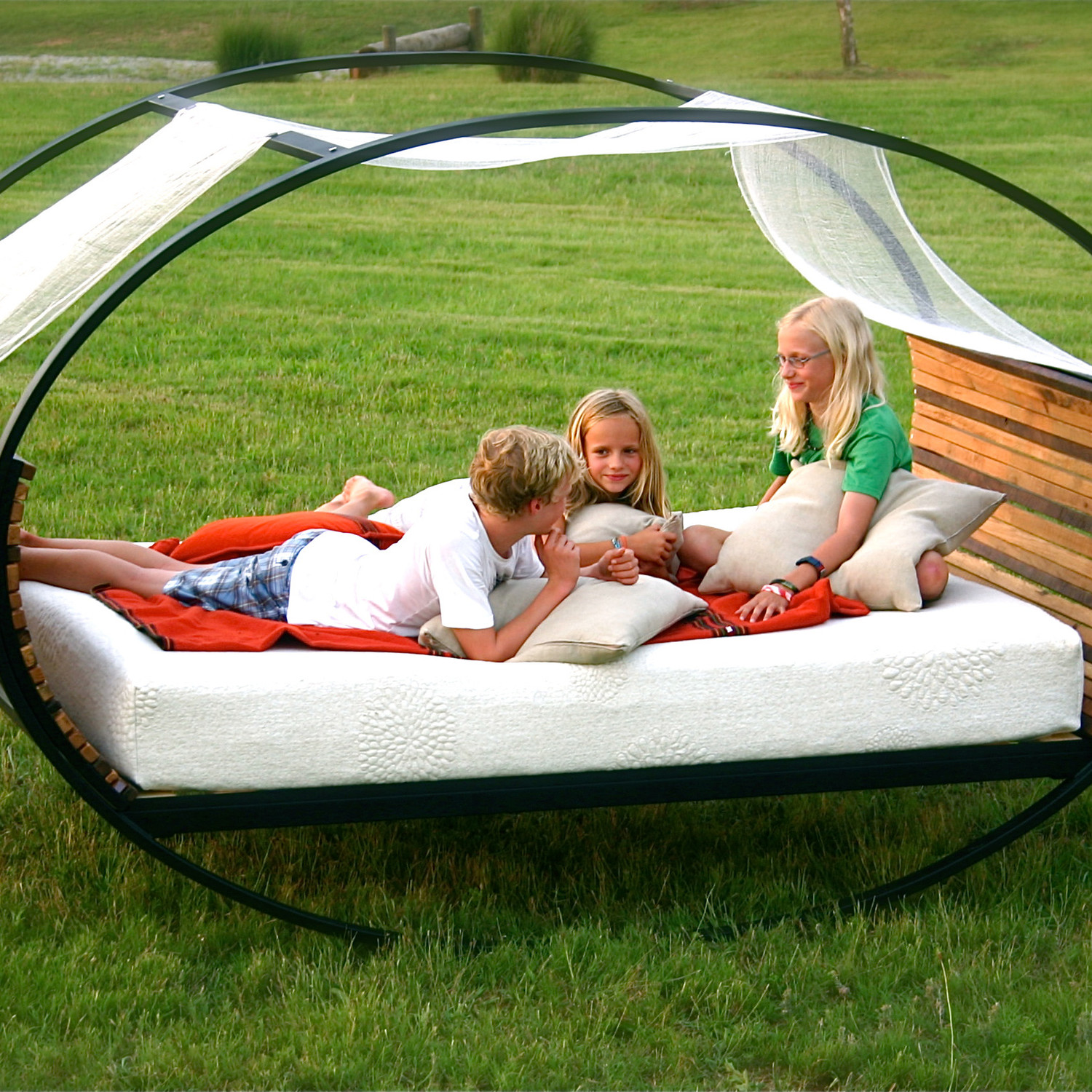 Mood Rocking Bed // Twin (Twin, Black With Calico) Great Ideas