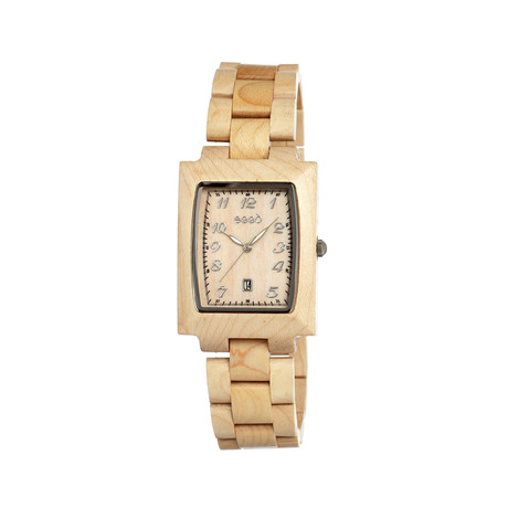 Mens & Ladies Khaki/Tan Cork Wood Watch