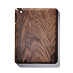 Solid Dark Walnut iPad Case