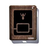 Solid Dark Walnut iPad Case