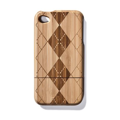Argyle Bamboo iPhone 4 Case