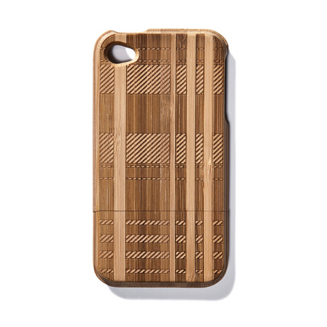 Plaid Bamboo iPhone 4 Case