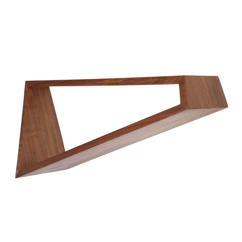 oblique shelf walnut builtin studio touch of modern