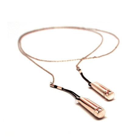 Droplet Necklace // Rose Gold