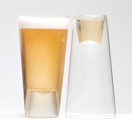 Bier Shot Light // Set van 4