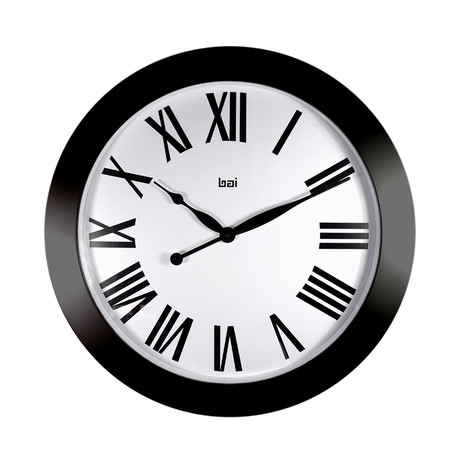 "Bai 26"" Magnum Wall Clock Roma"