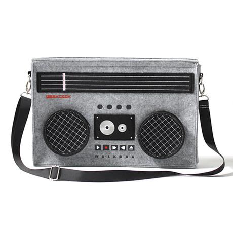 Classic 80s Boombox Bag