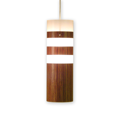 Legna Medium Pendant Lamp (Teak Wood Veneer)