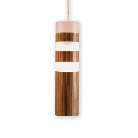Legna Small Pendant Lamp (Teak Wood Veneer)