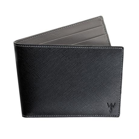 Wurkin RFID Blocked Slim Wallet (Grey)