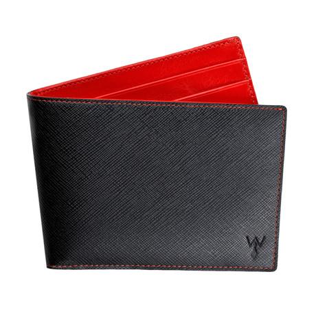 Wurkin RFID Blocked Slim Wallet (Red)