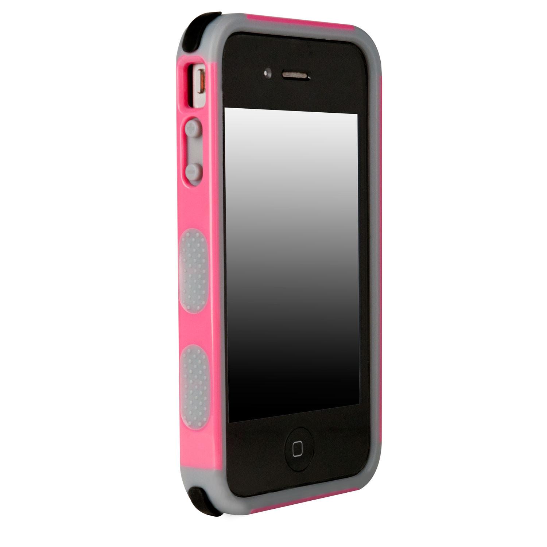 dualtek apple iphone 4s 4 pink puregear touch of modern. Black Bedroom Furniture Sets. Home Design Ideas