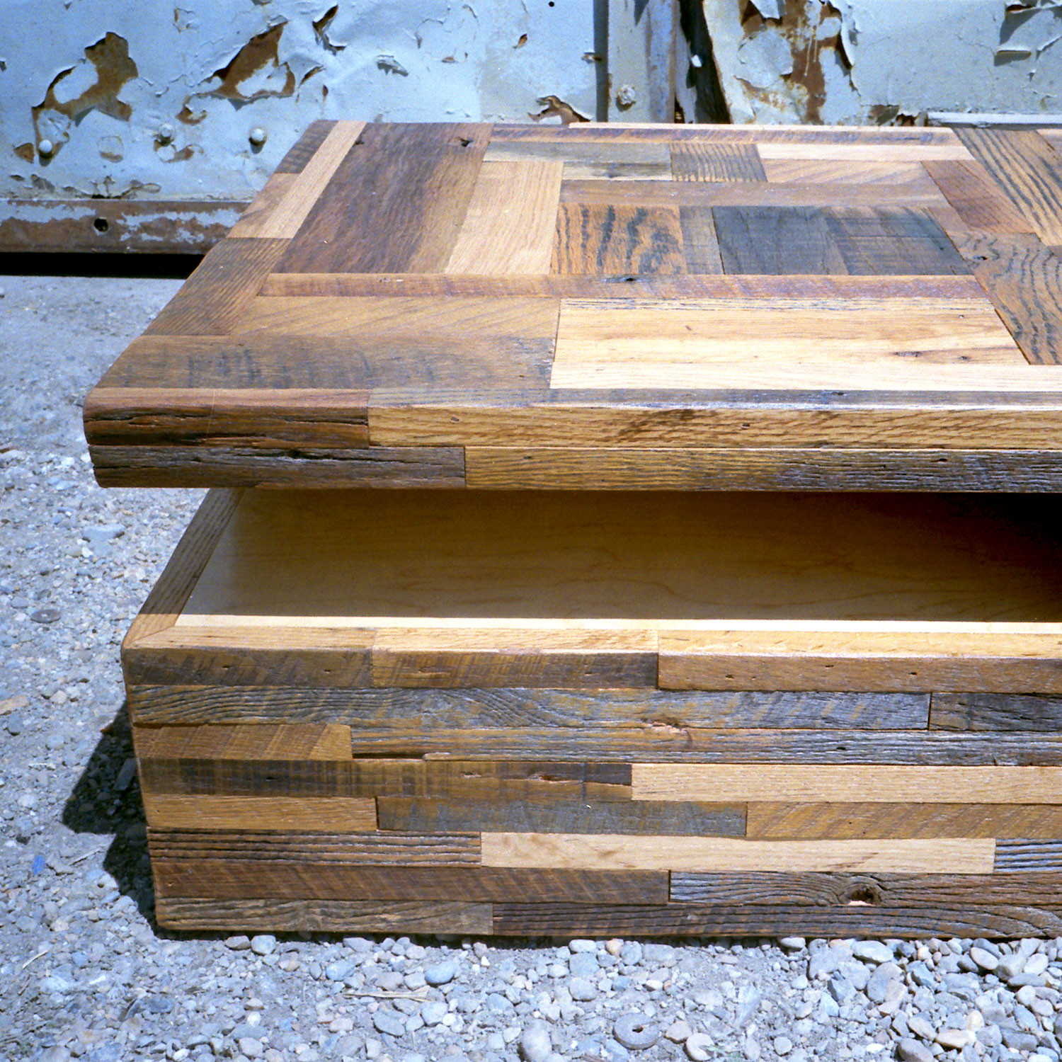 stack coffee table