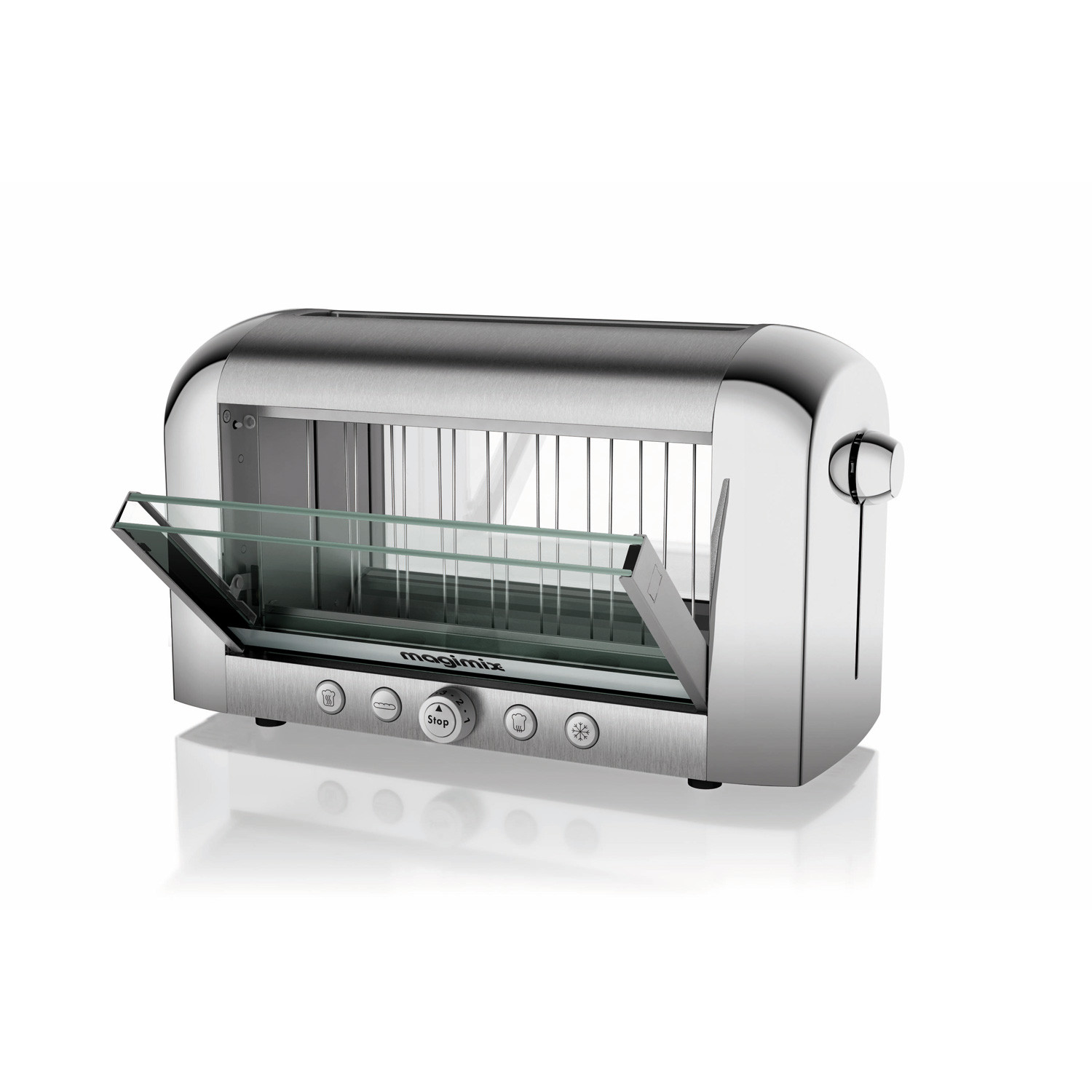 Vision Toaster Chrome Magimix By Robot Coupe Touch