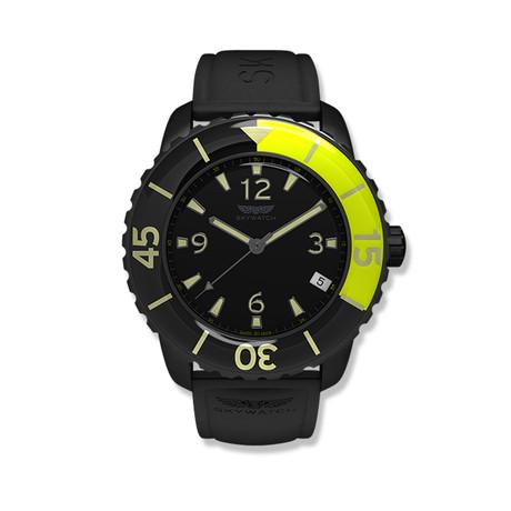 3-Hand // Black, Neon Green w/ 2 Straps