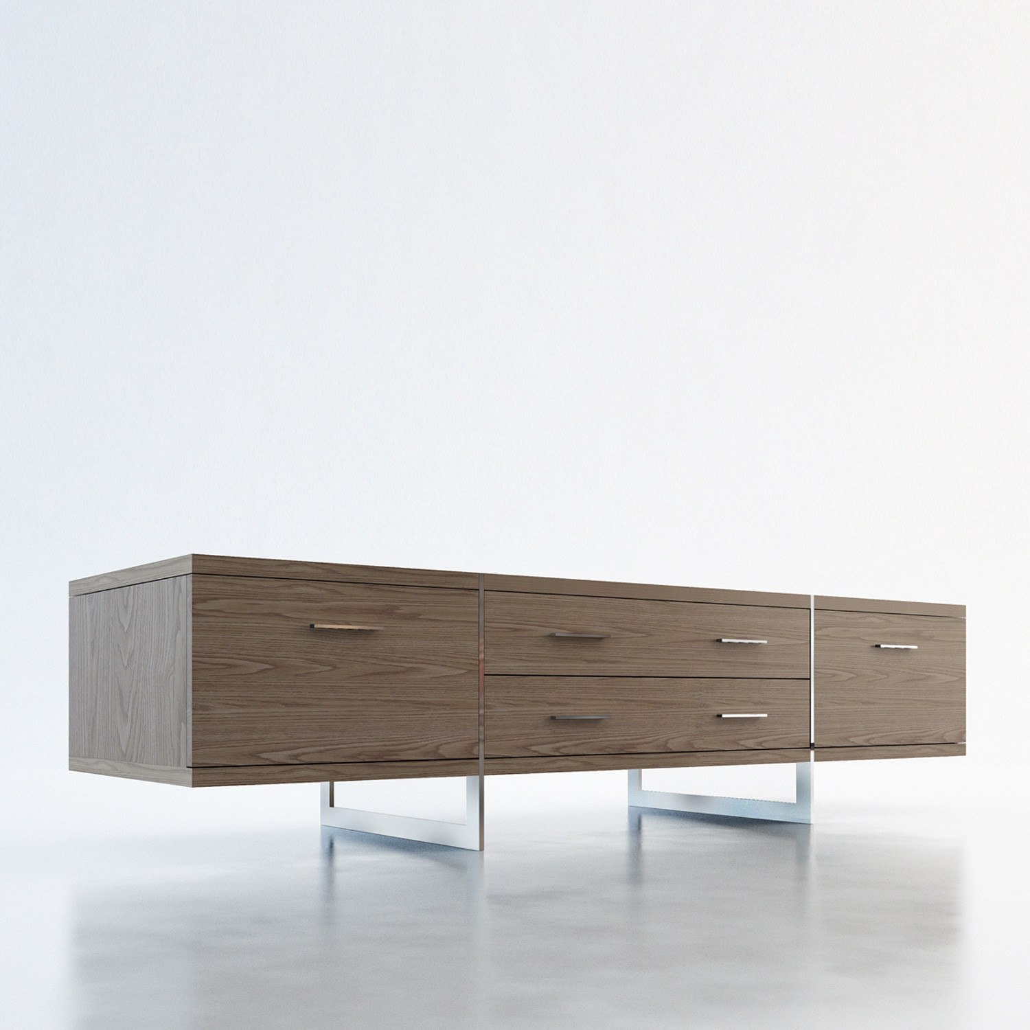 Allen Media Cabinet (Walnut) - Modloft Living - Touch of Modern