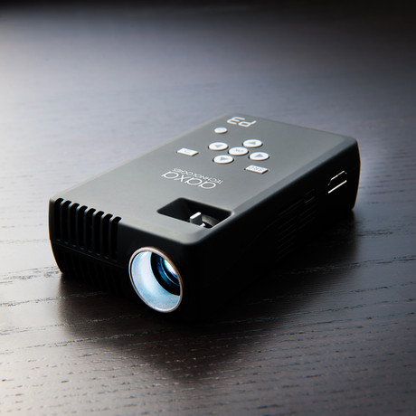 Aaxa handheld micro projectors touch of modern for Apple video projector
