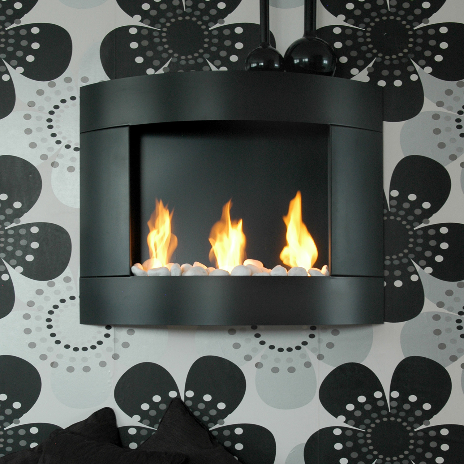 diamond 1 three round burners stainless steel bio. Black Bedroom Furniture Sets. Home Design Ideas