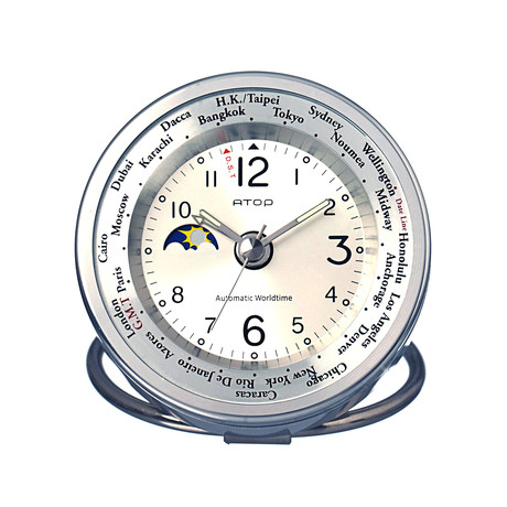 Atop clocks world time touch of modern for Touch of modern clock