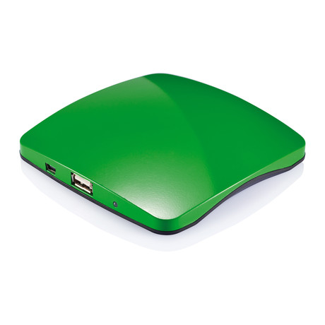 Window Solar Charger // Green (Green)