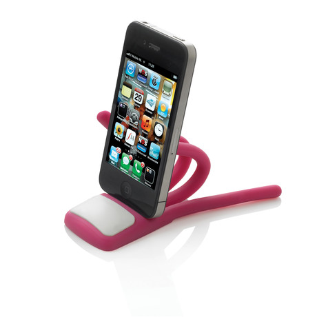 Eddy Phone Stand // Cherry (Cherry)