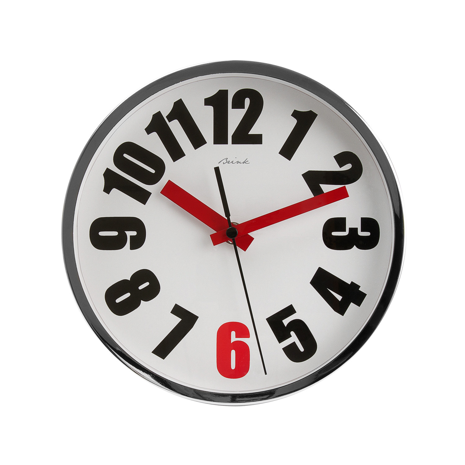 Wall clock moscow brink by present time inc touch of modern wall clock moscow amipublicfo Gallery
