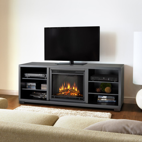 Real Flame Fire Meets Elegance Touch Of Modern