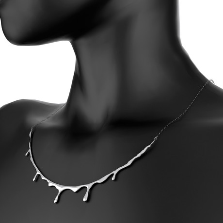 Bloody Necklace // Sterling Silver