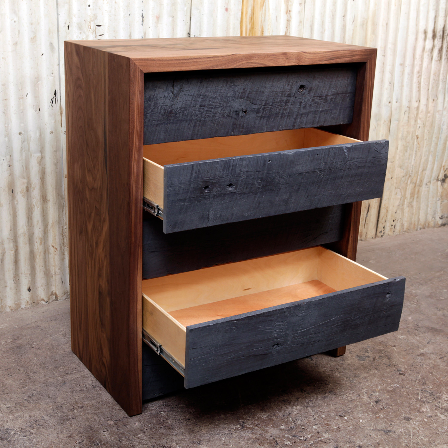 Reclaimed Wood Chest of Drawers - Reclaimed Wood Chest Of Drawers - ARTLESS - Touch Of Modern